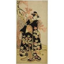 Katsukawa Shunsho: The Actor Iwai Hanshiro IV in an Unidentified Role - Art Institute of Chicago