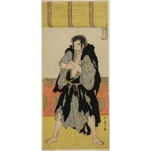 勝川春章: The Actor Ichikawa Danjuro V as the Monk Mongaku Disguised as Seizaemon Bozu in the Play Oakinai Hiru ga Kojima, Performed at the Nakamura Theater in the Eleventh Month, 1784 - シカゴ美術館