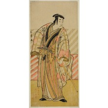 勝川春章: The Actor Onoe Matsusuke I in an Unidentified Role - シカゴ美術館