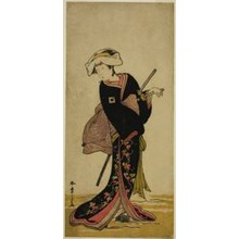 勝川春章: The Actor Ichikawa Danzo IV as Tonase in the Play Kanadehon Chushingura, Performed at the Morita Theater in the Third Month, 1781 - シカゴ美術館