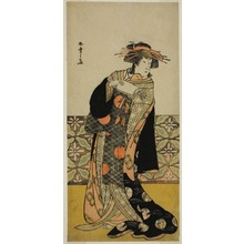 Katsukawa Shunsho: The Actor Nakamura Riko I in an Unidentified Role - Art Institute of Chicago