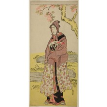 Katsukawa Shunko: The Actor Segawa Kikunojo III as Kumenosuke in the Play Keisei Natori Soga, Performed at the Kiri Theater in the Second Month, 1788 - Art Institute of Chicago