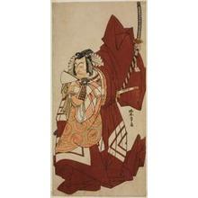 Katsukawa Shunsho: The Actor Ichikawa Danjuro V as Hannya no Goro in the Play Sugata no Hana Yuki no Kuronushi, Performed at the Nakamura Theater in the Eleventh Month, 1776 - Art Institute of Chicago