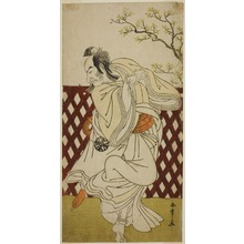 Katsukawa Shunsho: The Actor Nakamura Nakazo I as Sakon-gitsune in the Play Hana-zumo Genji Hiiki, Performed at the Nakamura Theater in the Eleventh Month, 1775 - Art Institute of Chicago