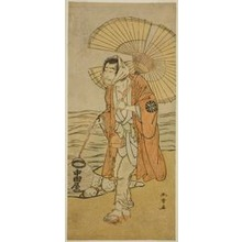 Katsukawa Shunsho: The Actor Nakamura Nakazo I as the Renegade Monk Dainichibo in the Play Edo Meisho Midori Soga, Performed at the Morita Theater in the First Month, 1779 - Art Institute of Chicago