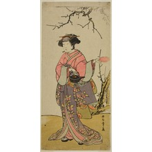 Katsukawa Shunsho: The Actor Yamashita Kinsaku II in an Unidentified role - Art Institute of Chicago