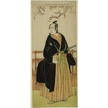Katsukawa Shunjô: The Actor Sawamura Sojuro III as Soga no Juro Sukenari in the Play Edo no Hana Mimasu Soga, Performed at the Nakamura Theater in the First Month, 1783 - シカゴ美術館