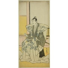 Katsukawa Shunsen: The Actor Matsumoto Koshiro IV as Hatakeyama Shigetada in the Play Edo no Fuji Wakayagi Soga, Performed at the Nakamura Theater in the First Month, 1789 - Art Institute of Chicago
