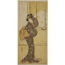 Katsukawa Shunko: The Actor Iwai Hanshiro IV in an Unidentified Role - Art Institute of Chicago