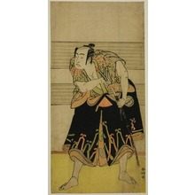 Katsukawa Shunko: The Actor Sawamura Sojuro III in an Unidentified Role - Art Institute of Chicago