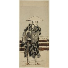 Katsukawa Shunsho: The Actor Bando Mitsugoro I as Abbot Saimyo-ji Tokiyori, Disguised as a Monk, in the Joruri