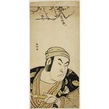 Katsukawa Shunko: Bust Portrait of the Actor Onoe Matsusuke I, Perhaps as Yodohachi the Cowherd in the Joruri