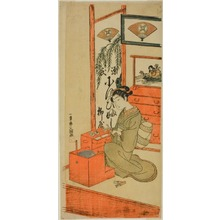 Ippitsusai Buncho: Ofuji of the Yanagi Shop - Art Institute of Chicago