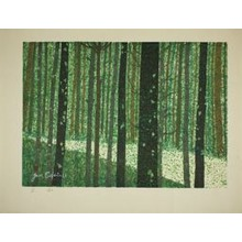 Sekino Junichiro: Tsuchiyama, Forest Road 53, Stations of the Tokaido - シカゴ美術館