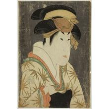 東洲斎写楽: The Actor Segawa Kikunojô III as Oshizu - シカゴ美術館