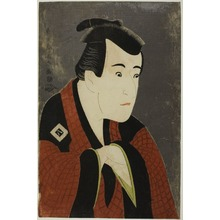 Toshusai Sharaku: The Actor Ichikawa Yaozô III as Tanabe Bunzô - Art Institute of Chicago