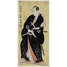 Toshusai Sharaku: The Actor Sawamura Sojuro III as Nagoya Sanza Motoharu (Sandai-me Sawamura Sojuro no Nagoya Sanza Motoharu) - Art Institute of Chicago