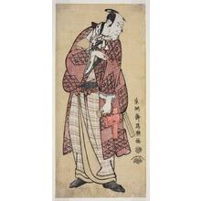 Toshusai Sharaku: The Actor Matsumoto Koshiro IV as the Wealthy Bumpkin from Yamato, Actually Magoemon of Ninokuchi Village (Yondai-me Matsumoto Koshiro no Yamato no Yabo Daijin, jitsuwa Ninokuchi-mura Magoemon) - Art Institute of Chicago