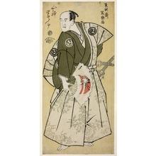 Toshusai Sharaku: The Actor Yamashina Shirojuro as Nagoya Sanzaemon (Yamashina Shirojuro no Nagoya Sanzaemon) - Art Institute of Chicago