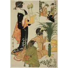 Kitagawa Utamaro: Act IV, from Treasury of the Loyal Retainers - Art Institute of Chicago
