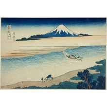 Katsushika Hokusai: Tama River in Musashi Province (Bushu Tamagawa), from the series Thirty-six Views of Mount Fuji (Fugaku sanjurokkei) - Art Institute of Chicago