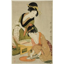 Kitagawa Utamaro: Preparing a Meal - Art Institute of Chicago