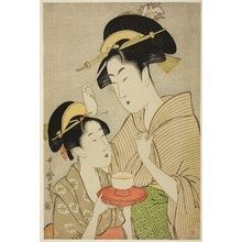 Kitagawa Utamaro: O Kita and a Geisha - Art Institute of Chicago