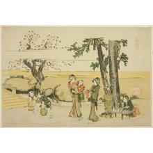 Katsushika Hokusai: A Wayside Scene (Oji) - Art Institute of Chicago