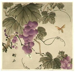 Nagamachi Chikuseki: Grape and Wasp - Artelino