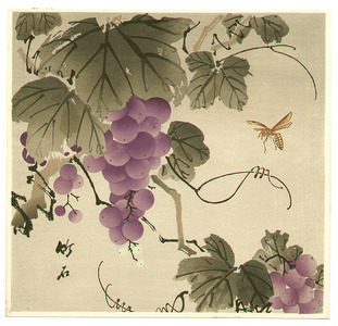 長町竹石: Grape and Wasp - Artelino