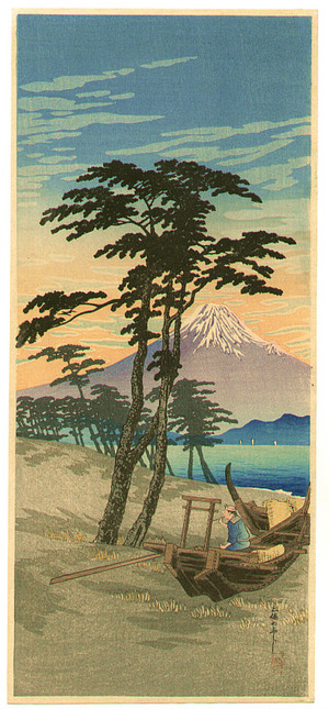 Takahashi Hiroaki: Mt.Fuji seen from Miho - Artelino
