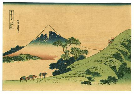 Katsushika Hokusai: Koshu - Fugaku Sanjurokkei - Artelino