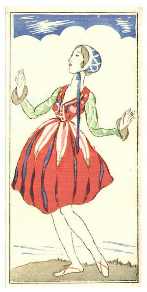 竹久夢二: Fairy Dancer - Artelino