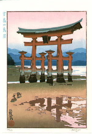 Paul Binnie: Torii at Miyajima (limited edition) - Artelino