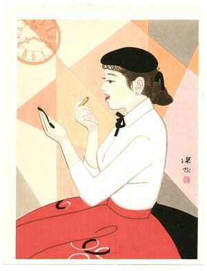 Ito Shinsui: Clock and Beauty IV - Artelino