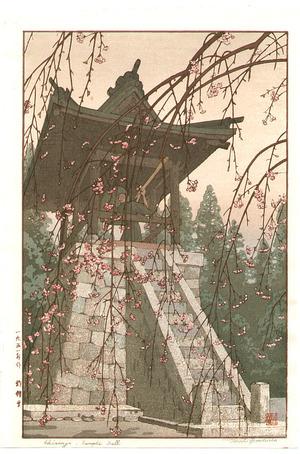 吉田遠志: Temple Bell (hand-signed) - Artelino