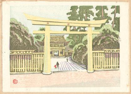 Yamaguchi Gen: Meiji Shrine ( Recollections of Tokyo) - Artelino