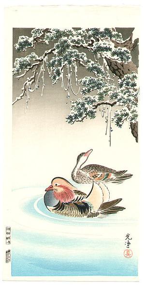 Tsuchiya Koitsu: Mandarin Ducks - Artelino