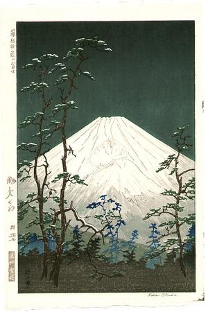 Okada Koichi: Mt.Fuji in Hakone Highway - Artelino