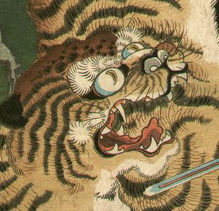歌川国綱: Magic Tiger - Artelino