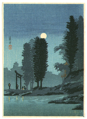 Takahashi Hiroaki: Tsukagoshi Shrine - Artelino