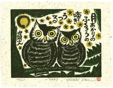 Kozaki Kan: Moonlight - Tsuki Akari - Artelino