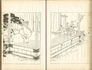 尾形月耕: Sketches by Gekko - Irohabiki Gekko Manga Vol.6 - Artelino