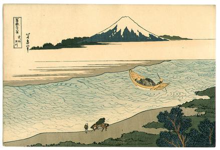 葛飾北斎: Tama River - Fugaku Sanju-rokkei - Artelino