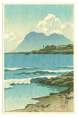 川瀬巴水: Ohtsu Boshu - Artelino