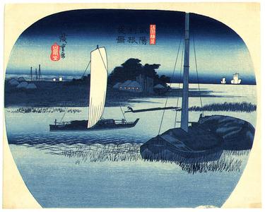 Utagawa Hiroshige: Buyo Tone - Shokoku Meisho - Artelino