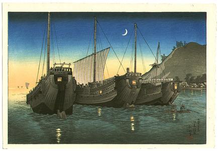 高橋弘明: Junks in Inatori Bay - Artelino
