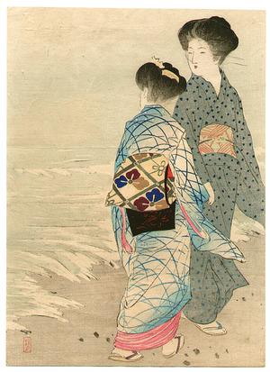 Takeuchi Keishu: Beauties on Beach - Artelino