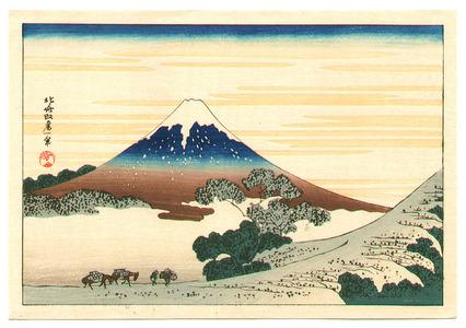 葛飾北斎: Koshu - Fugaku Sanjurokkei - Artelino