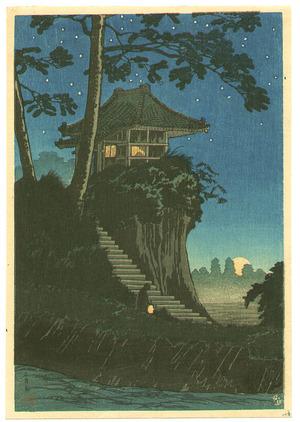 Takahashi Hiroaki: Temple in the Night - Tokumochi - Artelino